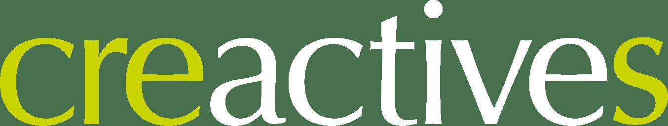 Creactives logo white